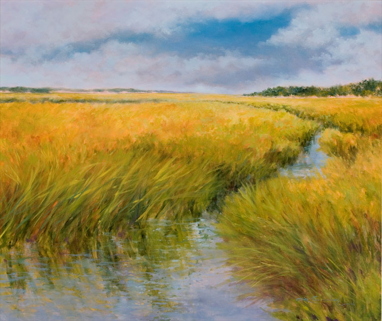 Landscape Paintings, Cape Cod Artist, En Plein Air